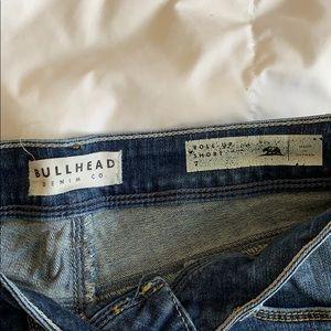 Bullhead Shorts - Bullhead Roll up Jean shorts
